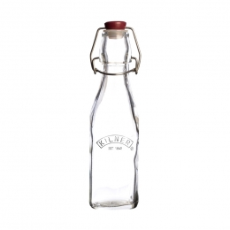Квадратная бутылка Kilner Clip Top, 250 мл