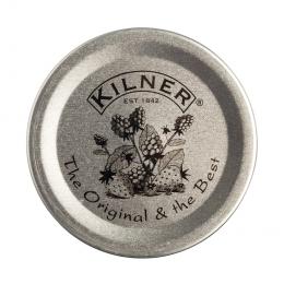 Набор вакуумных вставок для крышек Kilner Vintage, 12 шт, серебряный