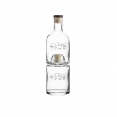 Набор из 2 бутылок с пробками, 330 и 350 мл
